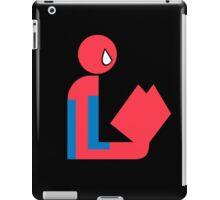 Spider Gentleman Reads iPad Case/Skin
