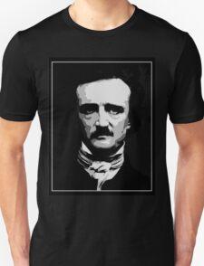Black and white vector art, Edgar Allan Poe  Unisex T-Shirt