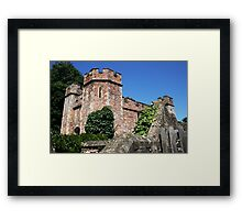 Dunster Castle, Somerset Framed Print