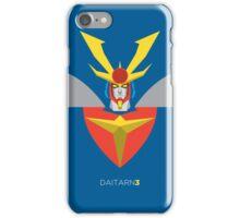 Invincible Steel Man Daitarn 3 iPhone Case/Skin