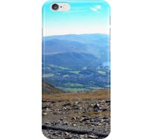 Keswick View from Skiddaw, Lake District Nat. Park, UK iPhone Case/Skin