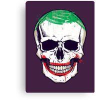 Joke's On You, Death! Canvas Print