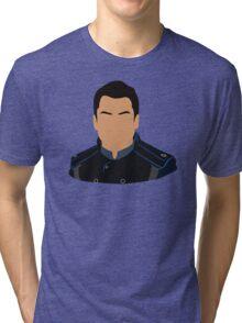 Mass Effect Kaidan Alenko Minimalist Tri-blend T-Shirt