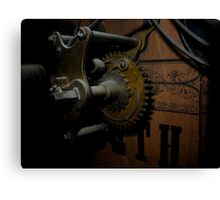 clockwork v2 Canvas Print