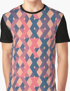 Criss-Cross Graphic T-Shirt