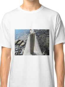 Dead tree pointing finger at you Classic T-Shirt