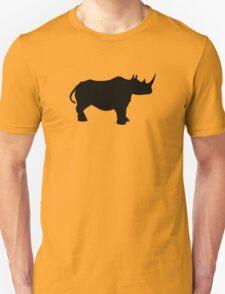 Rhinoceros Silhouette Unisex T-Shirt
