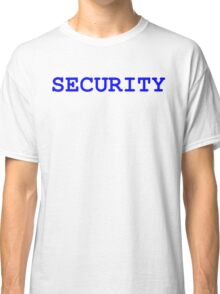 Security Text Classic T-Shirt