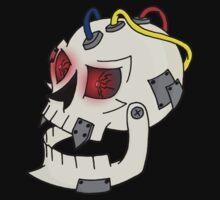 Bionic Skull One Piece - Long Sleeve