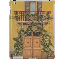 Italian door iPad Case/Skin