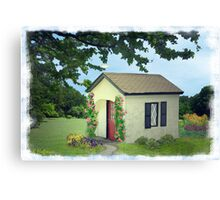 Starter Home Canvas Print