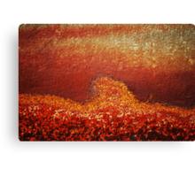 The Progression of Rust Canvas Print