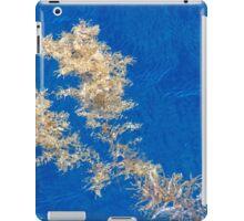 Floating seaweed on the ocean surface iPad Case/Skin