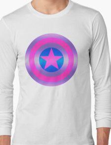 Bi Pride Shield Long Sleeve T-Shirt