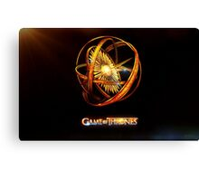 Games Of Thrones  Canvas Print