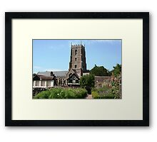 View from the Dream Garden Framed Print