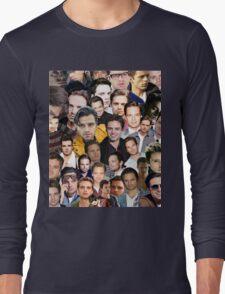sebastian stan collage Long Sleeve T-Shirt