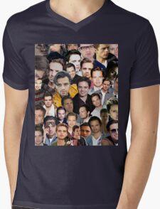 sebastian stan collage Mens V-Neck T-Shirt