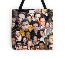 sebastian stan collage Tote Bag