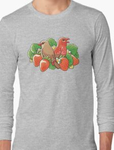 Strawberry finches Long Sleeve T-Shirt