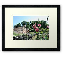 The Dream Garden (2), Dunster Castle and Gardens Framed Print
