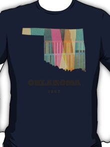 oklahoma state map T-Shirt