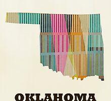 oklahoma state map by bri-b