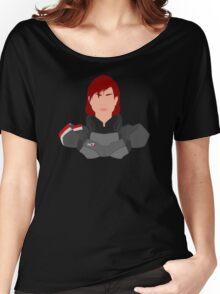 Mass Effect FemShep Minimalist Women's Relaxed Fit T-Shirt
