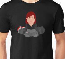 Mass Effect FemShep Minimalist Unisex T-Shirt
