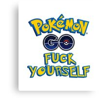 Pokémon GO Canvas Print