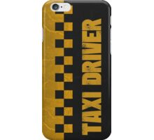 Taxi Driver T Shirt iPhone Case/Skin