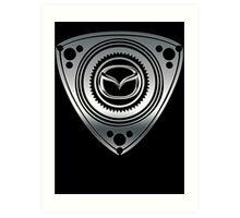 Mazda Rotary Art Print