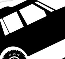 Nike Land Rover Just Do It (Parody) Sticker