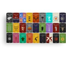 Games Of Thrones Family Canvas Print