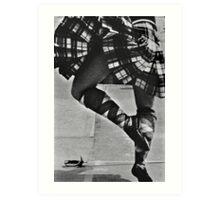 Scottish Sword Dancer Art Print