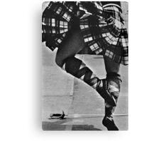 Scottish Sword Dancer Canvas Print