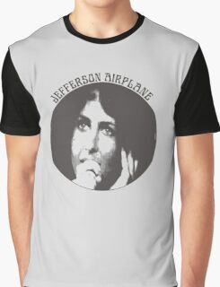 Jefferson Airplane (Grace Slick) Graphic T-Shirt