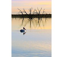 Peace and Quiet on the Lake Photographic Print