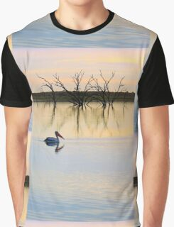 Peace and Quiet on the Lake Graphic T-Shirt