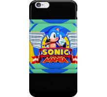 Sonic Mania iPhone Case/Skin