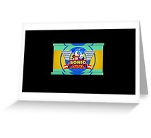 Sonic Mania Greeting Card