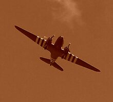 BBMF WW2 Dakota by LRWFLIGHTART