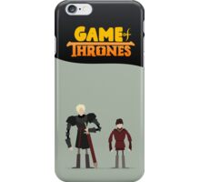 Game Of Thrones - Brienne & Pod iPhone Case/Skin