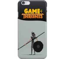 Game Of Thrones - Grey Worm iPhone Case/Skin
