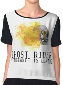 Ghost rider - agents of shield  Chiffon Top