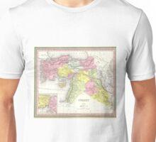 Vintage Map of Turkey (1850) Unisex T-Shirt