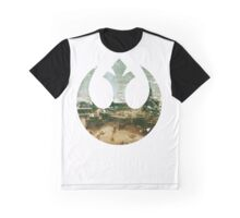 REBEL ALLIANCE LOGO - TATOOINE Graphic T-Shirt