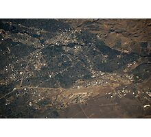 Boise, Idaho from Space Photographic Print