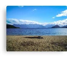 Lake Manapouri, Fiordland, New Zealand Canvas Print