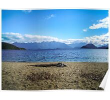 Lake Manapouri, Fiordland, New Zealand Poster
